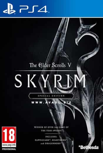 بازی The elder scrolls skyrim پلی استیشن 4