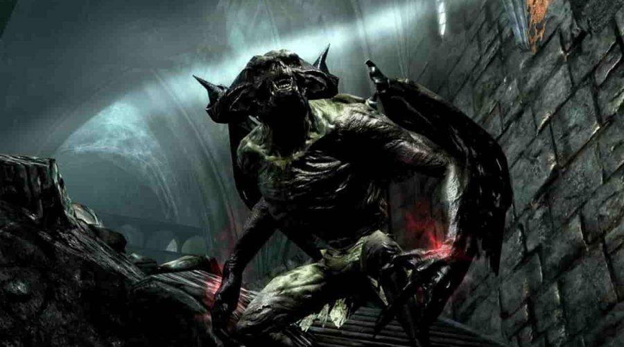 بازی The elder scrolls skyrim پلی استیشن 4