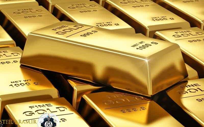 ساختار شمش طلا