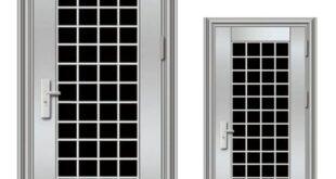 انواع درب های فلزی