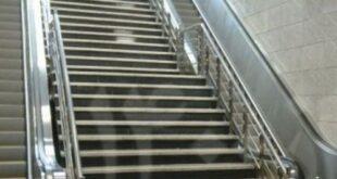 نرده استیل راه پله مترو